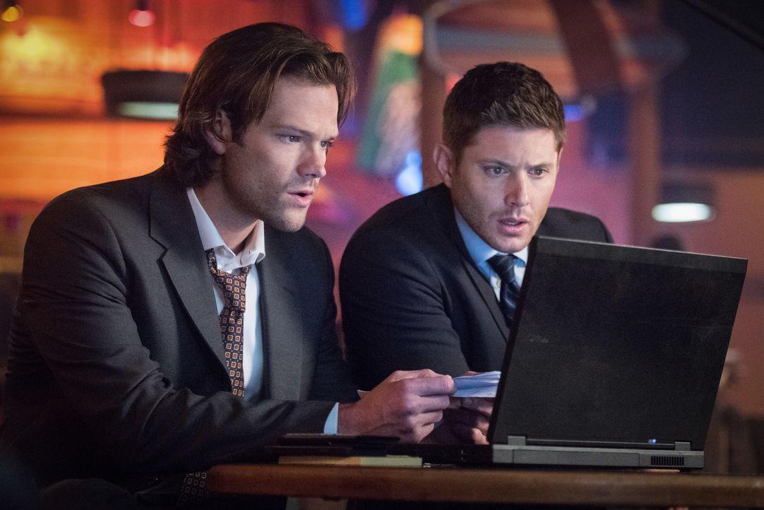 Sam (Jared Padalecki, l.); Dean (Jensen Ackles, r.) - Bildquelle: Dean Buscher 2016 The CW Network, LLC. All Rights Reserved/Dean Buscher