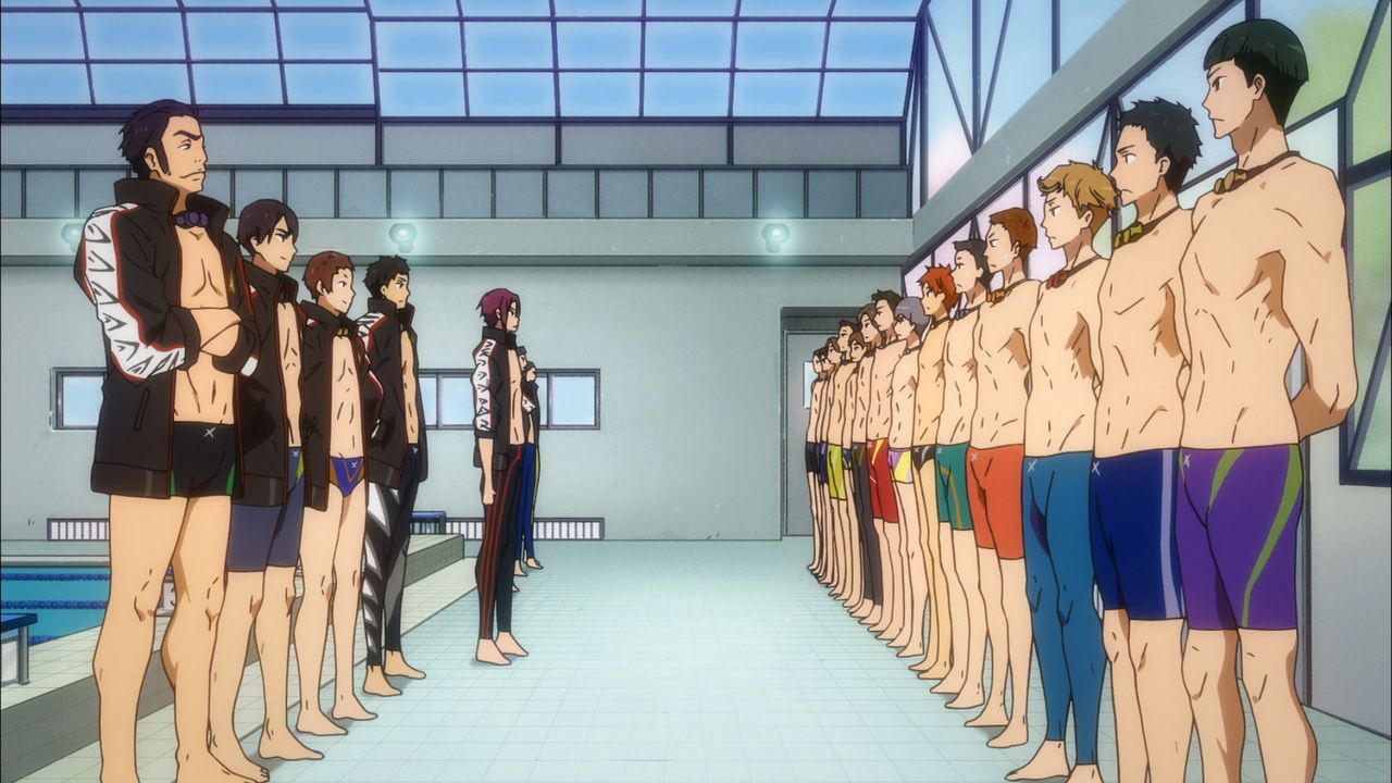 Free! Timeless Medley #02: The Promise - Bildquelle: 2017 Ohji Kouji/Kyoto Animation/Iwatobi High School Swimming Club TM the Promise Production Committee