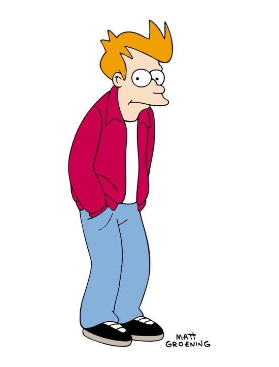 (6. Staffel) - Was für eine Karriere hat Fry gemacht: vom Pizzajungen zum intergalaktischen Boten. - Bildquelle: und TM Twenthieth Century Fox Film Corporation - Alle Rechte vorbehalten