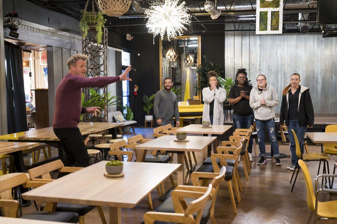 Das Partylokal - Bildquelle: Jeffrey Neira Studio Ramsay and all3media international / Jeffrey Neira