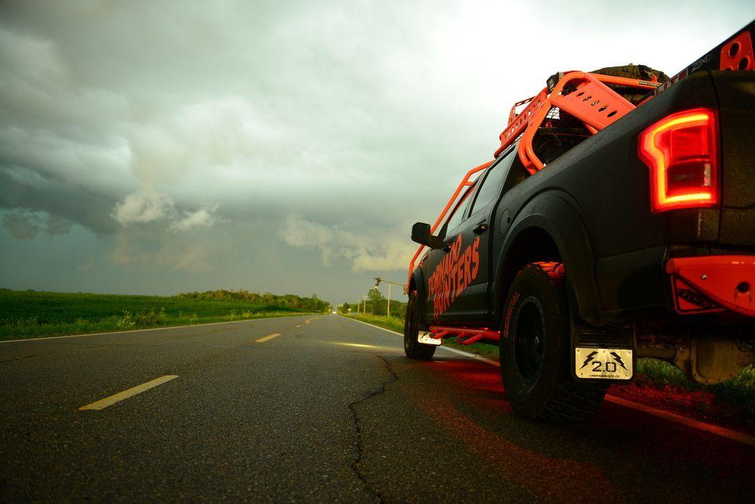 Das Wetter will nicht immer so, wie die Tornado Hunter ...