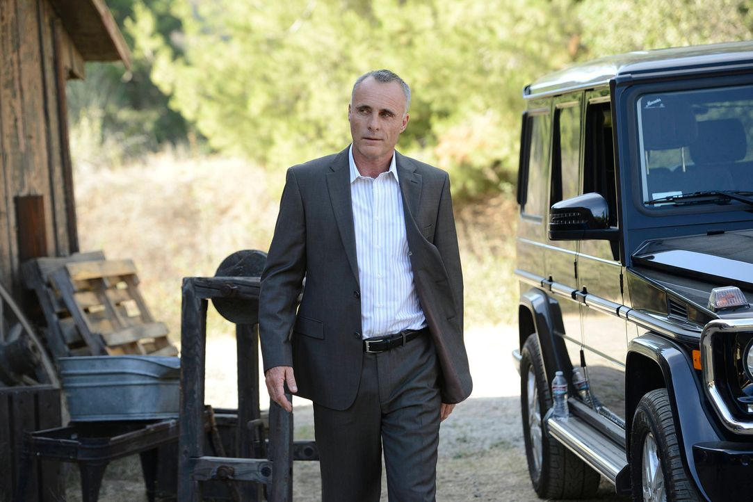 Gaalan (Timothy V. Murphy) ist nicht besonders erfreut darüber, dass die Sons sich aus dem Waffendeal zurückziehen wollen ... - Bildquelle: 2013 Twentieth Century Fox Film Corporation and Bluebush Productions, LLC. All rights reserved.