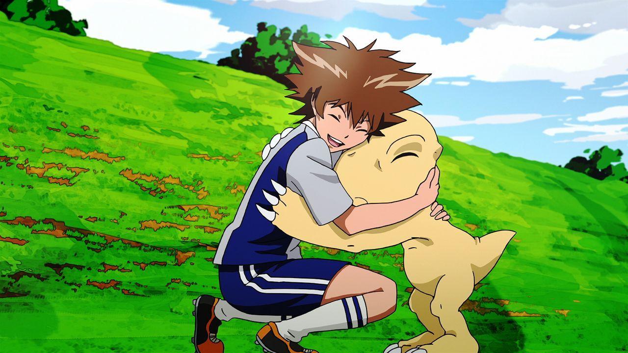 Tai Yagami (l.); Agumon (r.) - Bildquelle: 2015 Toei Animation Co., Ltd.