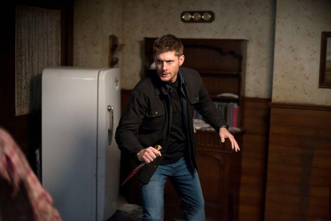 Um im Kampf gegen Abaddon eine Chance zu haben, nimmt Dean (Jensen Ackles) eine Bürde auf sich, dessen Ausmaß er sich nicht im Geringsten vorstellen... - Bildquelle: 2013 Warner Brothers