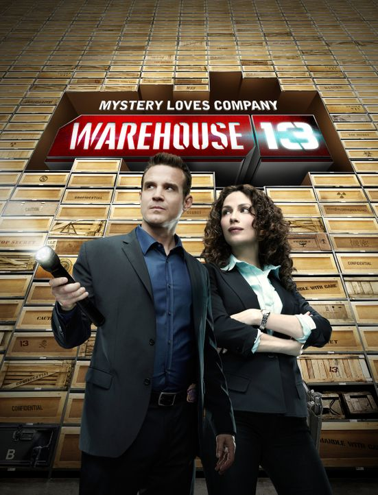 Warehouse 13 - Artwork - Bildquelle: SCI FI Channel