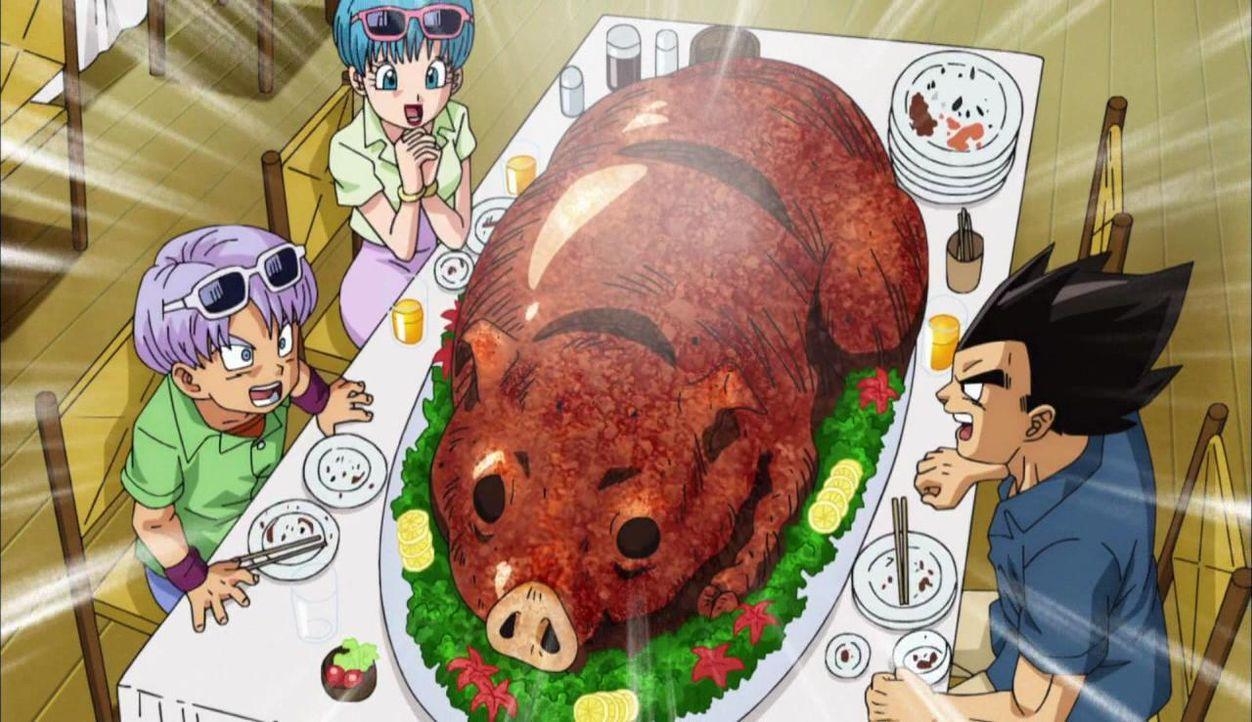 Schwein muss man haben! Doch muss es gleich so groß sein?  - Bildquelle: BIRD STUDIO/SHUEISHA, TOEI ANIMATION