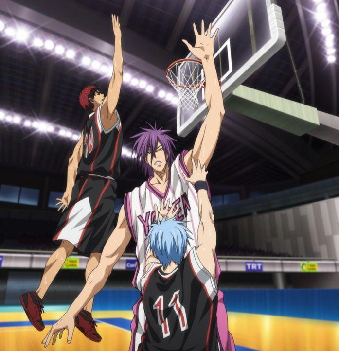 Ich werde ganz sicher nicht verlieren - Bildquelle: Tadatoshi Fujimaki/SHUEISHA, Team Kuroko