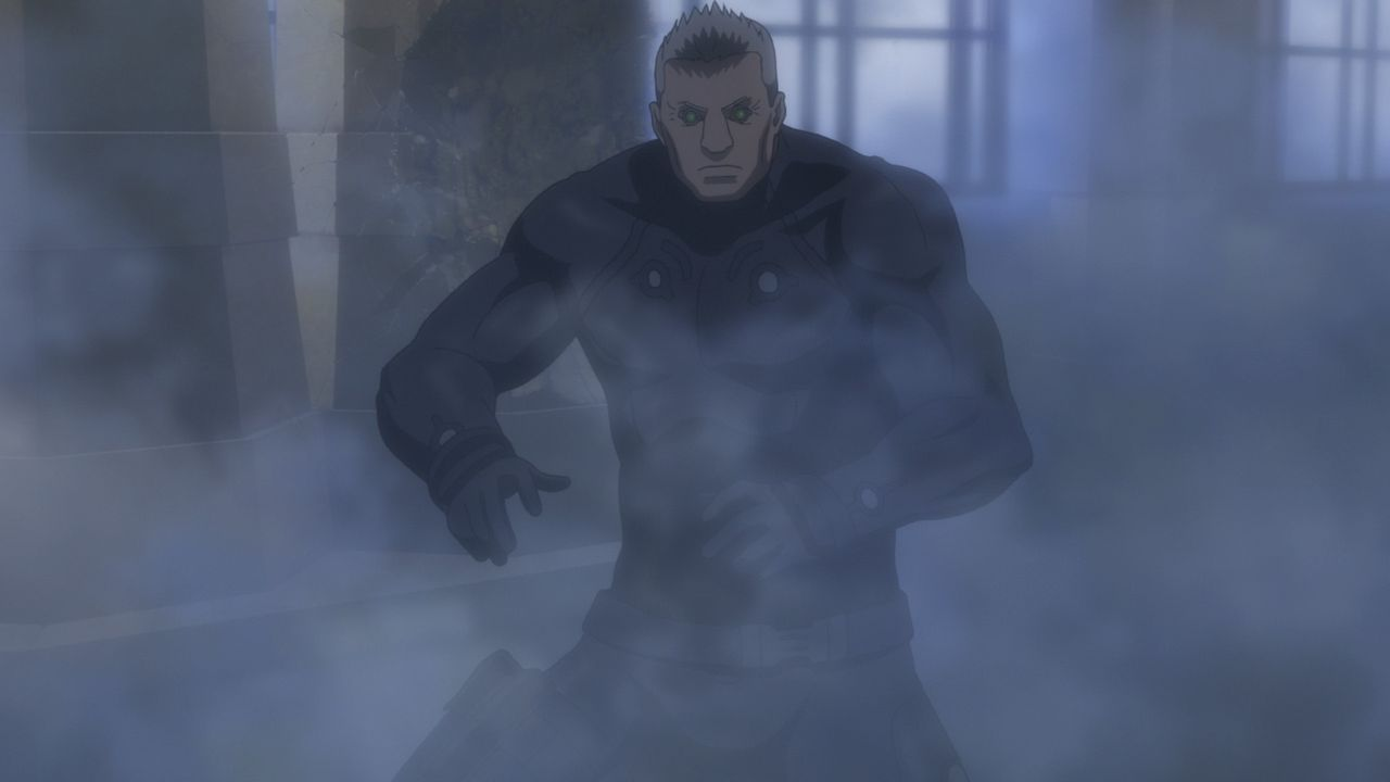 Batou - Bildquelle: Shirow Masamune - Production I.G/KODANSHA - GHOST IN THE SHELL: THE MOVIE COMMITTEE. All Rights Reserved.
