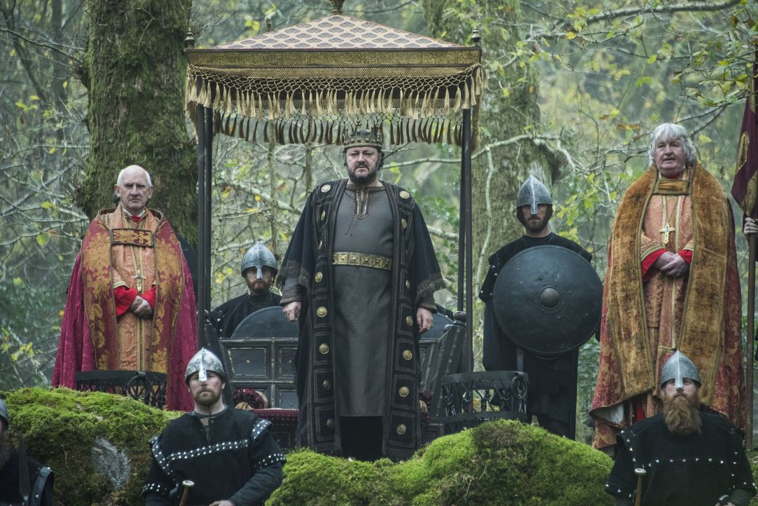 Wünscht sich nichts sehnlicher als Rache an Ragnar Lothbrok zu nehmen: König Aelle (Ivan Kaye, M.) ... - Bildquelle: 2016 TM PRODUCTIONS LIMITED / T5 VIKINGS III PRODUCTIONS INC. ALL RIGHTS RESERVED.