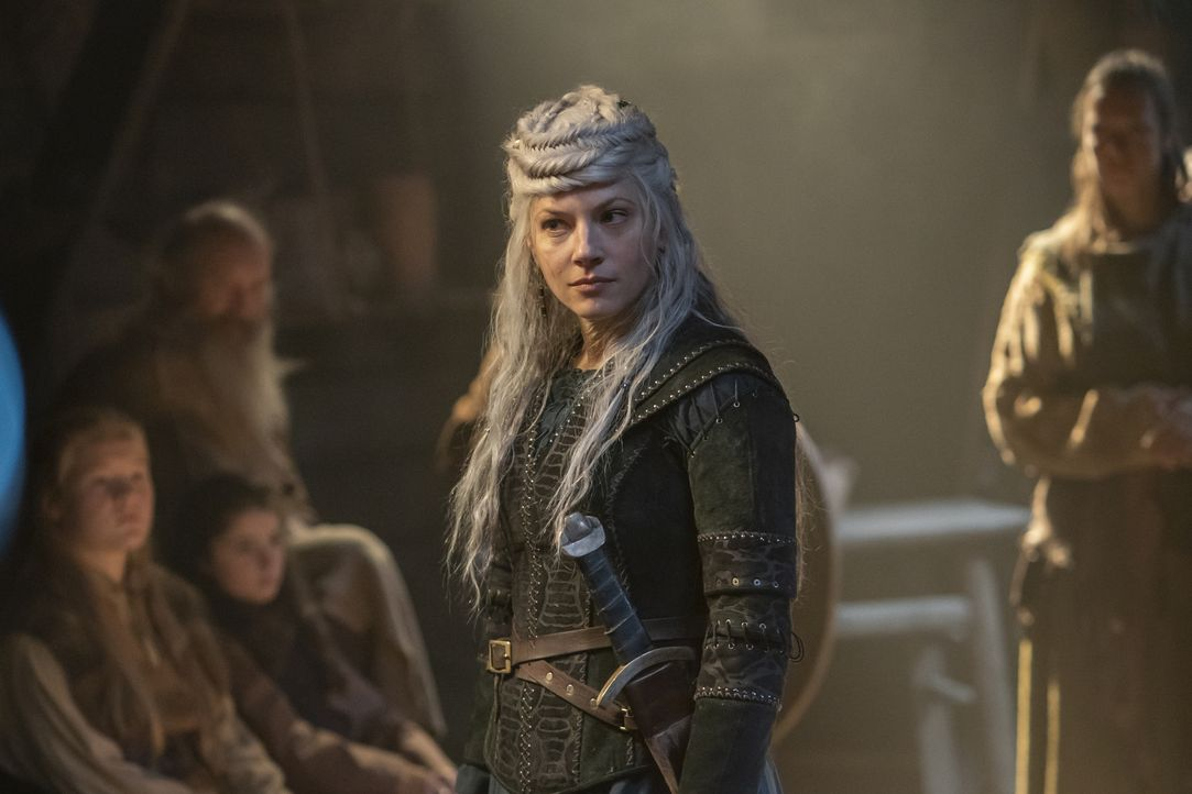 Lagertha (Katheryn Winnick) - Bildquelle: 2020 TM Productions Limited / T5 Vikings IV Productions Inc. All Rights Reserved. An Ireland-Canada Co-Production.