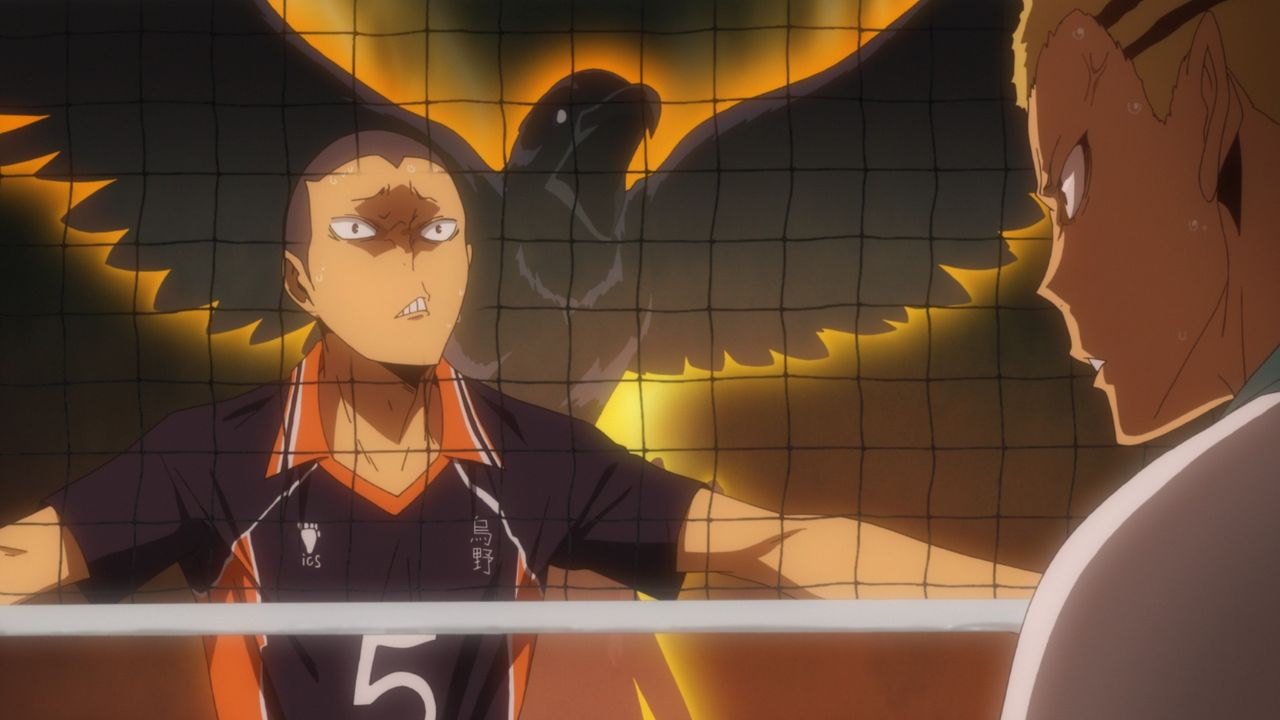 (v.l.n.r.) Ryunosuke Tanaka; Kentaro Kyotani - Bildquelle: H. Furudate / Shueisha, >HAIKYU!! 2nd Season< Project, MBS  All Rights Reserved.