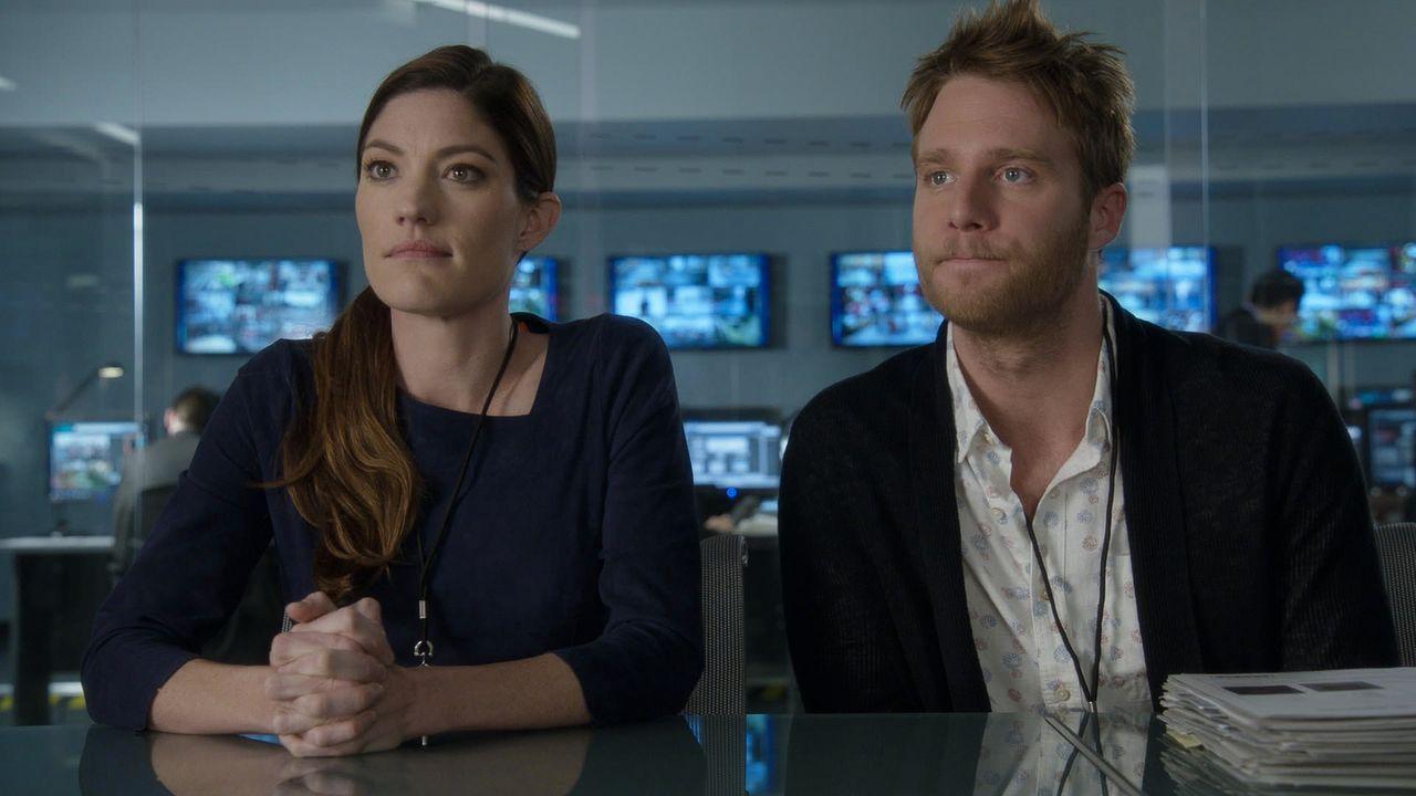 Eine ganz besondere Aufgabe wartet auf Brian (Jake McDorman, r.) und Rebecca (Jennifer Carpenter, l.) ... - Bildquelle: 2015 CBS Broadcasting, Inc. All Rights Reserved