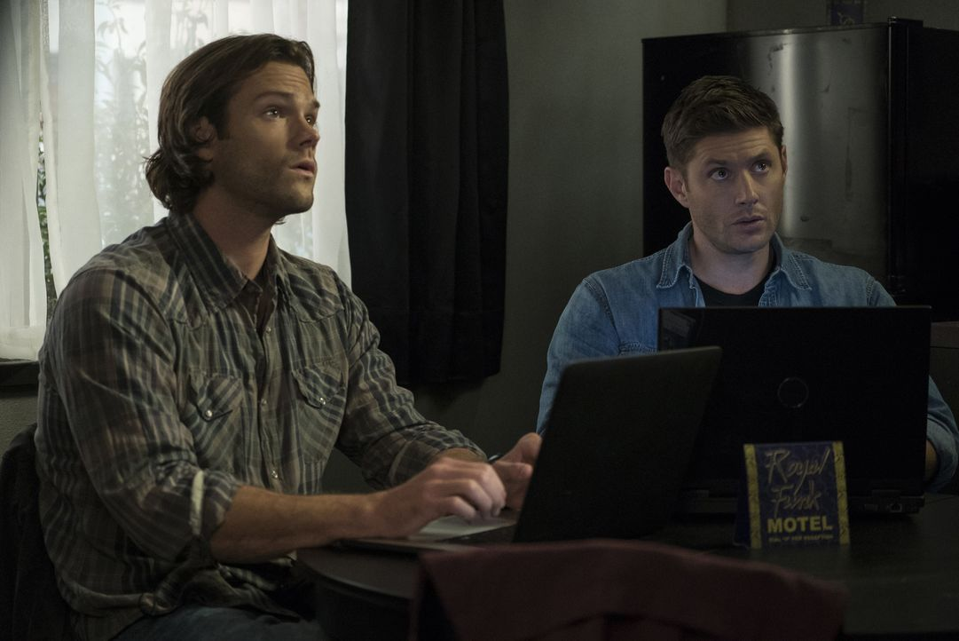 Sam (Jared Padalecki, l.); Dean (Jensen Ackles) - Bildquelle: Katie Yu 2016 The CW Network, LLC. All Rights Reserved/Katie Yu