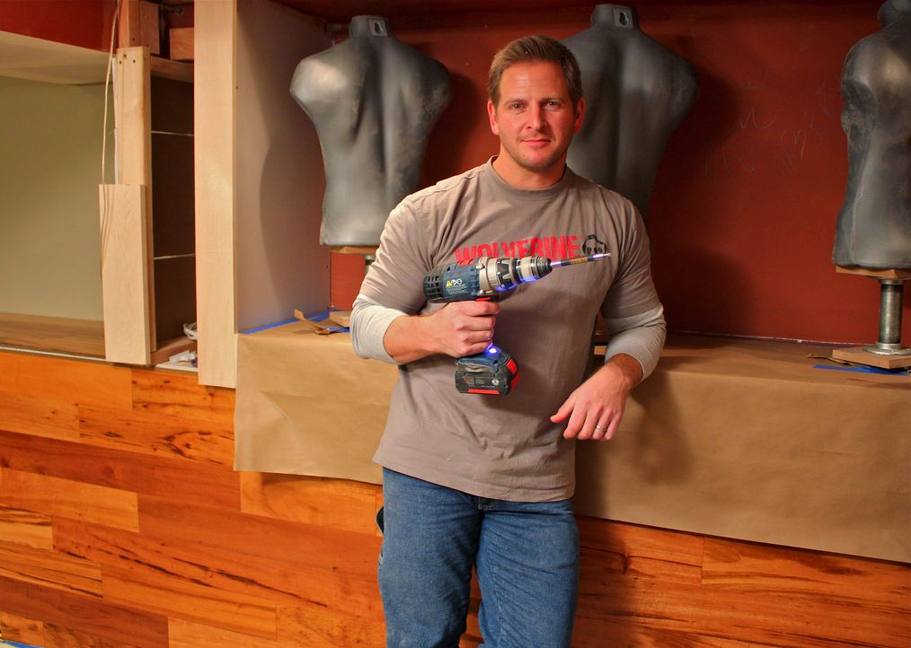 (7. Staffel) - Wenn Männer ihren eigenen Rückzugsort im Haus benötigen, ist Handwerkprofi Jason Cameron zur Stelle ... - Bildquelle: Nathan Frye 2011, DIY Network