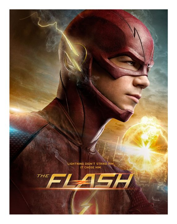 "(1. Staffel) - Vom Wissenschaftler zum Superhelden: Barry Allen alias ""The Flash"" (Grant Gustin) ... - Bildquelle: Warner Brothers."