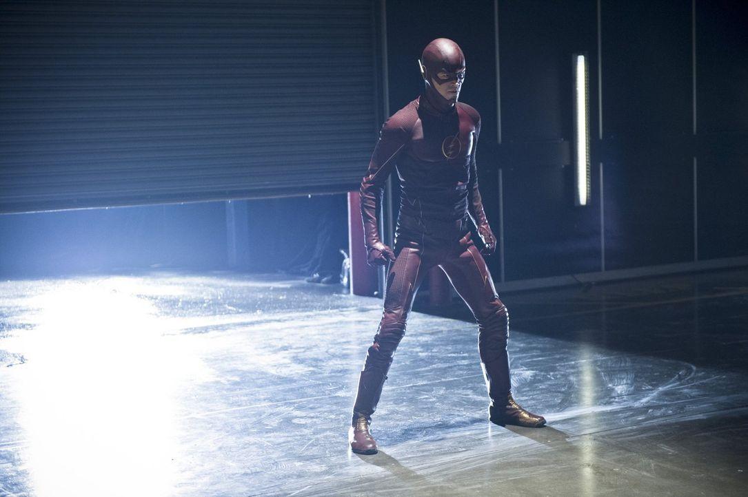 Nimmt erneut den Kampf gegen das Böse auf: Barry alias The Flash (Grant Gustin) ... - Bildquelle: Warner Brothers.