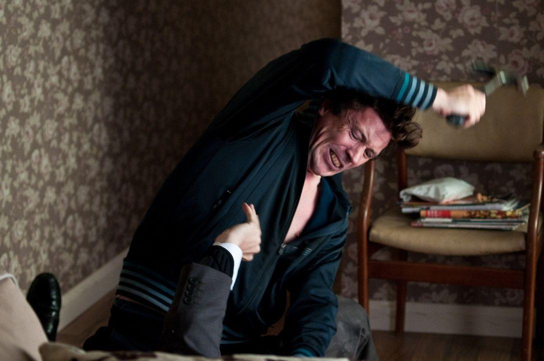 Schlägt erneut zu: der hemmungslose Cop-Killer Barry Weiss (Aidan Gillen) ...