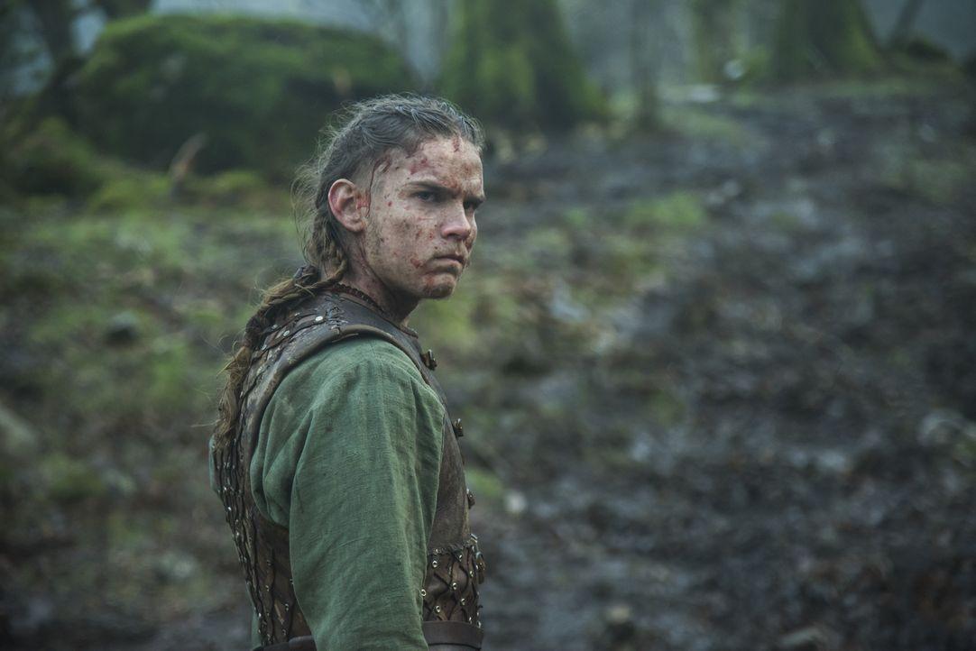 Gibt alles, um seinen Vater, König Ragnar, zu rächen: Hvitserk (Marco Ilsø) ... - Bildquelle: 2016 TM PRODUCTIONS LIMITED / T5 VIKINGS III PRODUCTIONS INC. ALL RIGHTS RESERVED.