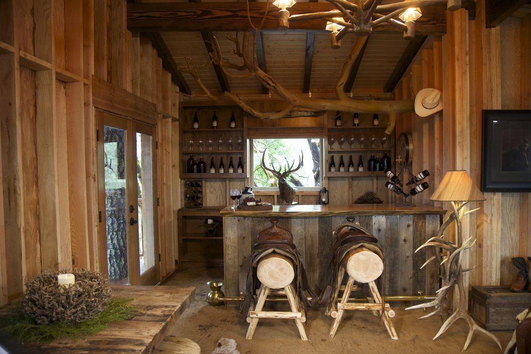 Die Treehouse Guys kreieren dieses Mal ein Baumhaus-Traum im Western-Style. Wie wird es ihren Kunden aus Oregon gefallen? - Bildquelle: 2016, DIY Network/Scripps Networks, LLC. All Rights Reserved.