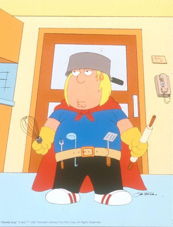 (2. Staffel) - Chris (Bild) ist das Ebenbild seines Vaters: leicht übergewichtig und von dümmlicher Gutmütigkeit. - Bildquelle: TM +   1998 Twentieth Century Fox Film Corp. All Rights Reserved.