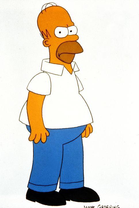 (4. Staffel) - In einer rauhen Schale steckt oft ein fauler Kern: Homer Simpson. - Bildquelle: und TM Twentieth Century Fox Film Corporation - Alle Rechte vorbehalten
