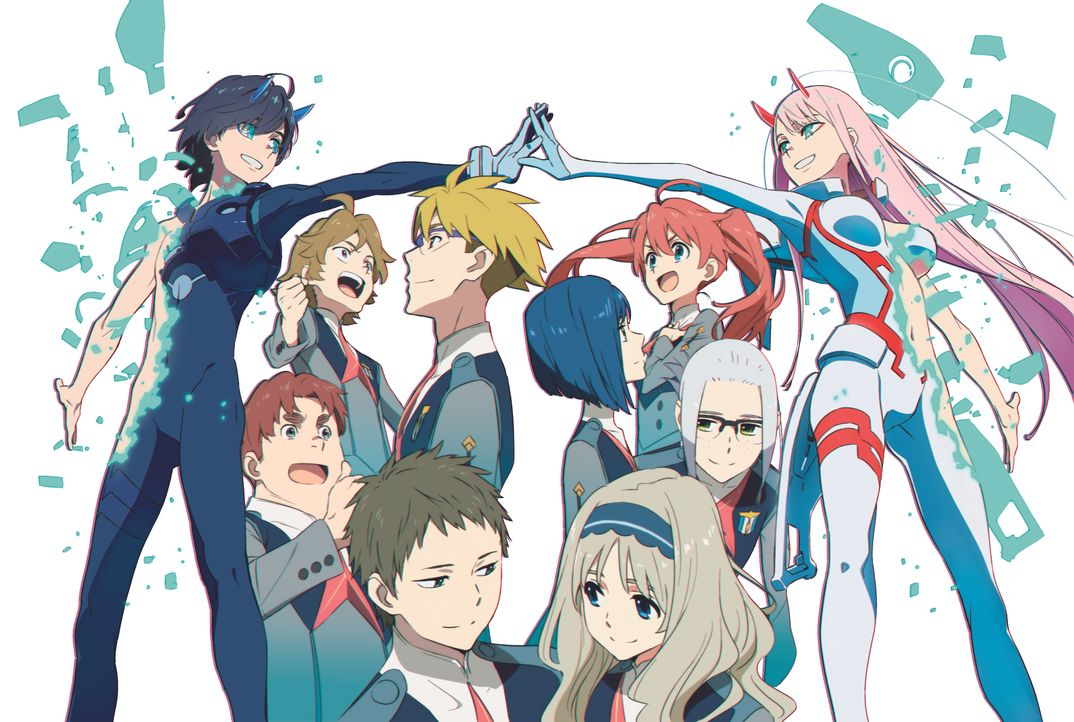 (1. Staffel) - Darling in the Franxx - Artwork - Bildquelle: DARLING in the FRANXX Committee