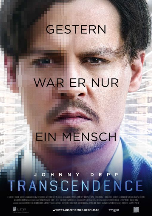 TRANSCENDENCE - Plakat - Bildquelle: 2013 Alcon Entertainment, LLC. All Rights Reserved