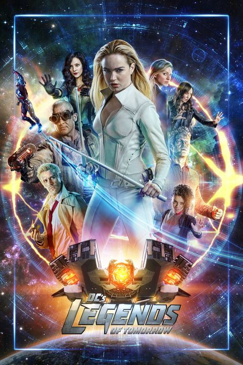 (4. Staffel) - Legends of Tomorrow - Artwork - Bildquelle: Warner Bros.