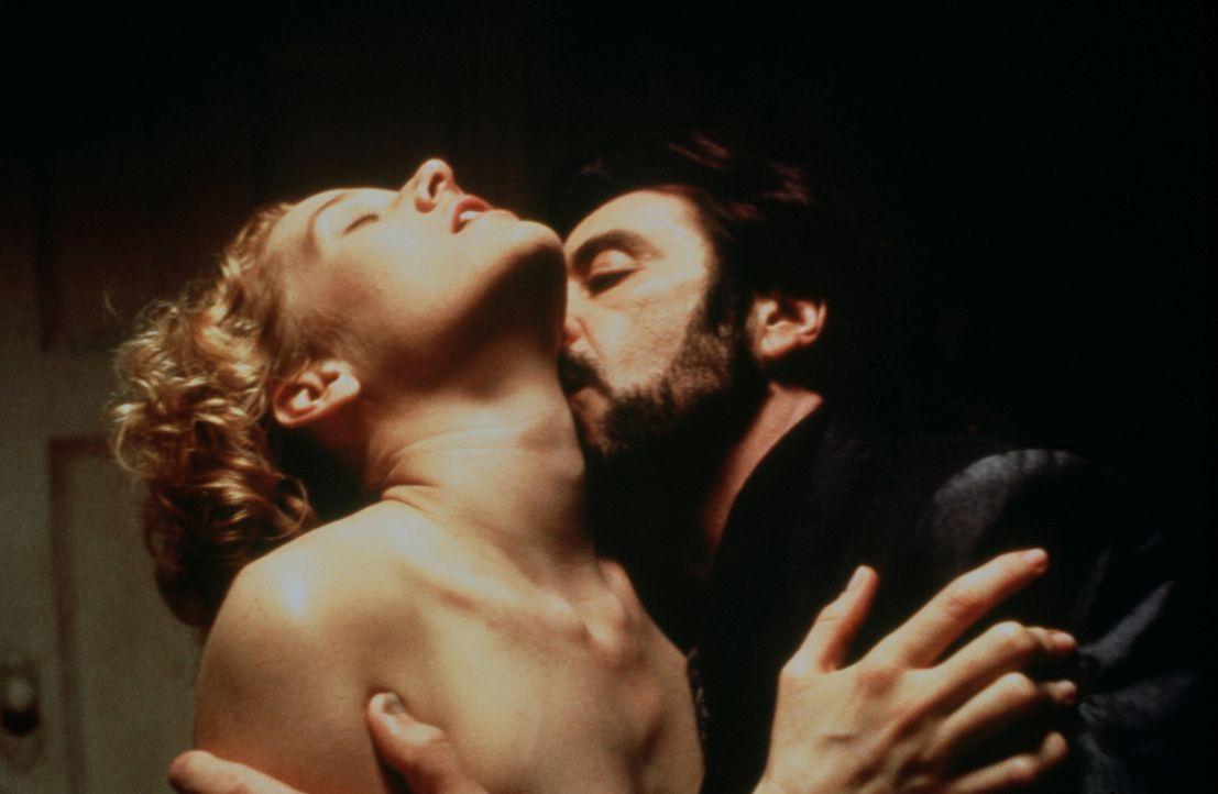 Nach seiner Entlassung aus dem Gefängnis flammt die alte Leidenschaft zwischen Carlito (Al Pacino, r.) und der hübschen Gail (Penelope Ann Miller, l... - Bildquelle: Universal Pictures