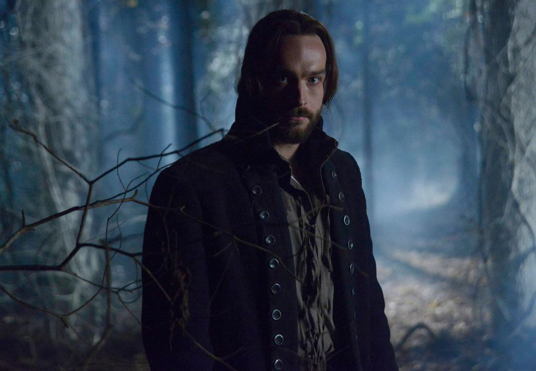 Sucht Hilfe bei Henry Parrish, um herauszufinden, was mit seinem Sohn geschehen ist: Ichabod Crane (Tom Mison) ... - Bildquelle: 2013 Twentieth Century Fox Film Corporation. All rights reserved.