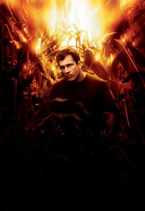 Manche Menschen glauben an Gott, andere an Außerirdische. Graham Hess (Mel Gibson) glaubt an gar nichts mehr. Da ist eines Tages sein Maisfeld von r... - Bildquelle: Touchstone Pictures