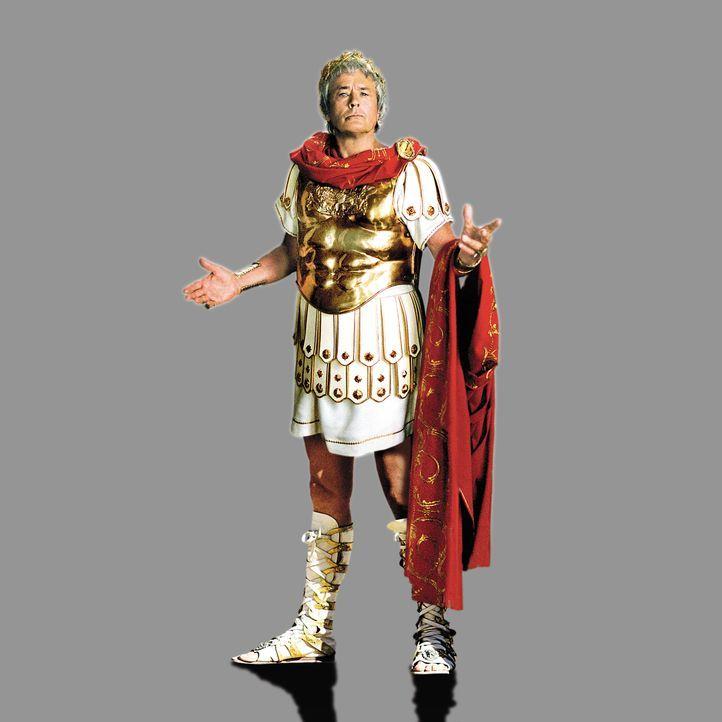Cäsar (Alain Delon) organisiert die Olympischen Spiele in Griechenland. Der Sieger soll der Gemahl Prinzessin Irinas werden ... - Bildquelle: Constantin Film