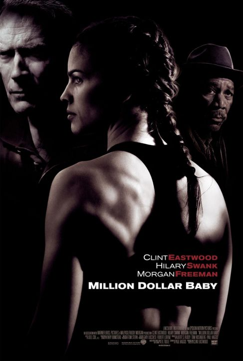 Million Dollar Baby mit (v.l.n.r.) Clint Eastwood, Hilary Swank und Morgan Freeman - Bildquelle: Epsilon Motion Pictures