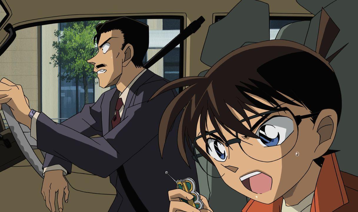 Im Wettlauf gegen die Zeit: Sollte es Conan (r.) und Kogoro (l.) nicht gelingen, innerhalb von 12 Stunden einen Fall zu lösen, werden ihre Freunde s... - Bildquelle: 2006 GOSHO AOYAMA / SHOGAKUKAN-YTV-NTV-ShoPro-TOHO-TMS All Rights Reserved.