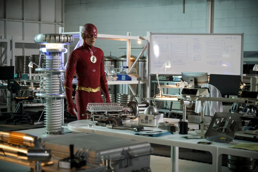 Barry alias The Flash (Grant Gustin) - Bildquelle: Jeff Weddell 2018 The CW Network, LLC. All rights reserved. / Jeff Weddell