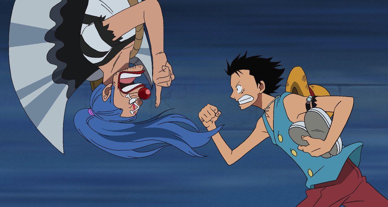 Zusammen mit Buggy will sich Ruffy zu seinem Bruder Ace durchkämpfen. Doch s... - Bildquelle: Eiichiro Oda/Shueisha, Toei Animation