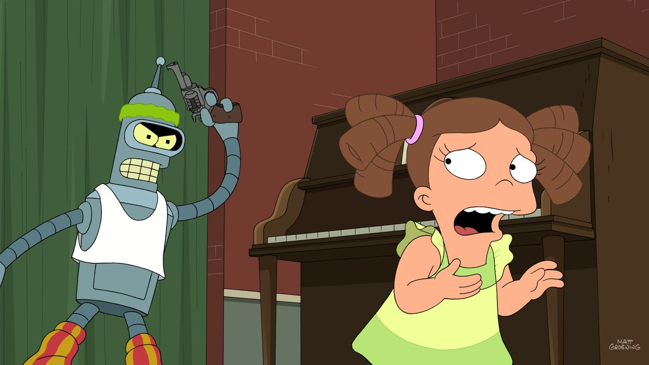 Bender (l.) nimmt an einem Steptanz-Wettbewerb teil, wo er es bis ins Finale schafft. Doch dann macht ihm ein kleines Mädchen (r.) das Leben schwer... - Bildquelle: Twentieth Century Fox Film Corporation. All rights reserved.