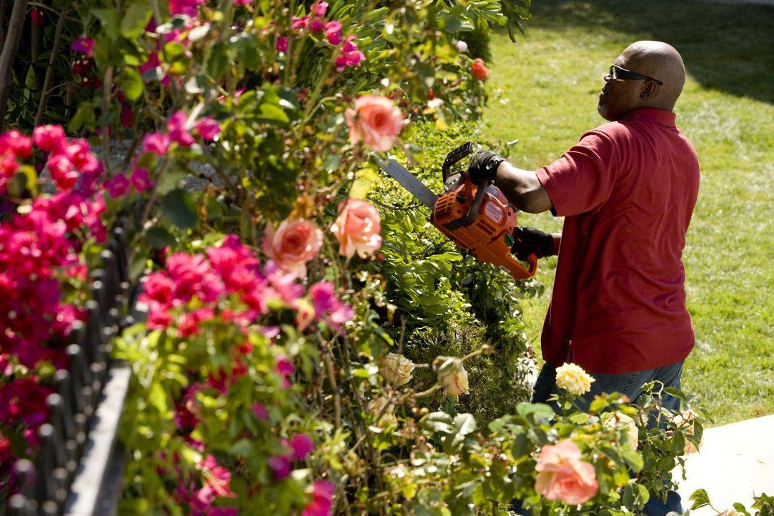 Macht seinen Nachbarn das Leben zur Hölle:  Abel (Samuel L. Jackson) ... - Bildquelle: 2007 Screen Gems, Inc. All Rights Reserved.
