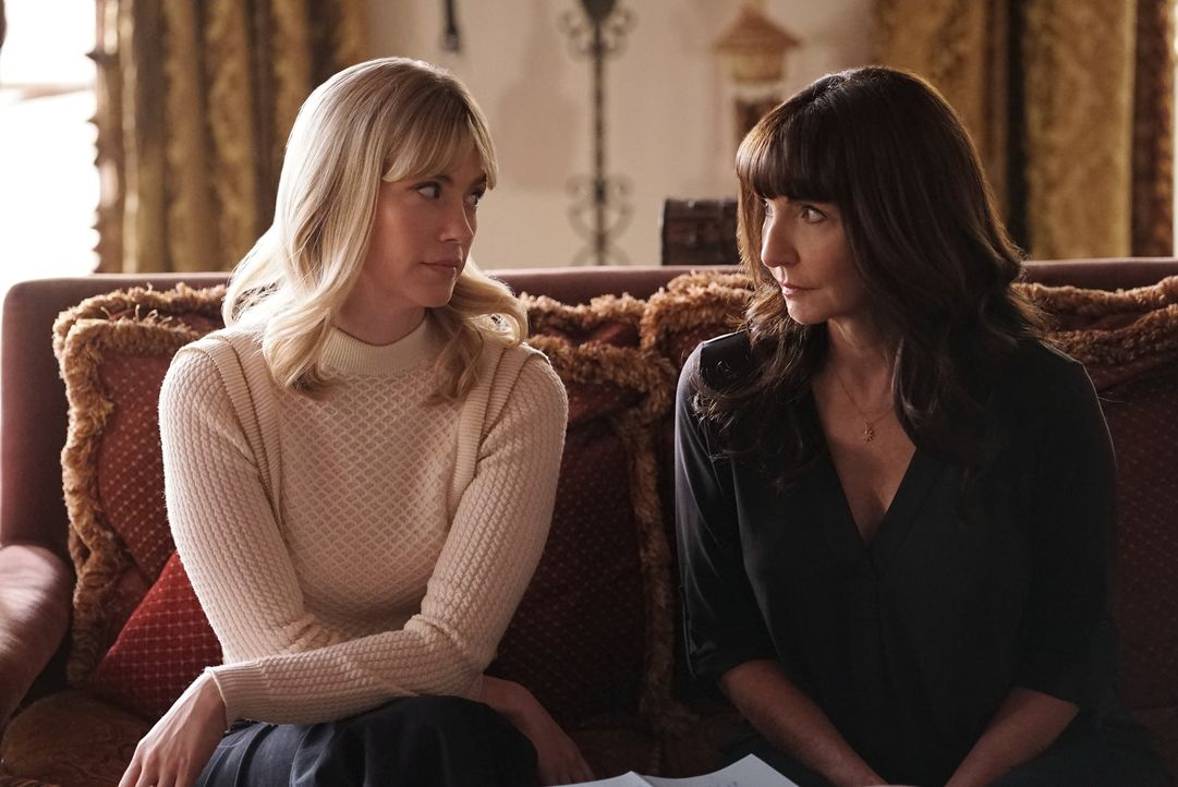 Melissa (January Jones, l.); Gail (Mary Steenburgen, r.) - Bildquelle: 2017-2018 Fox and its related entities.  All rights reserved.