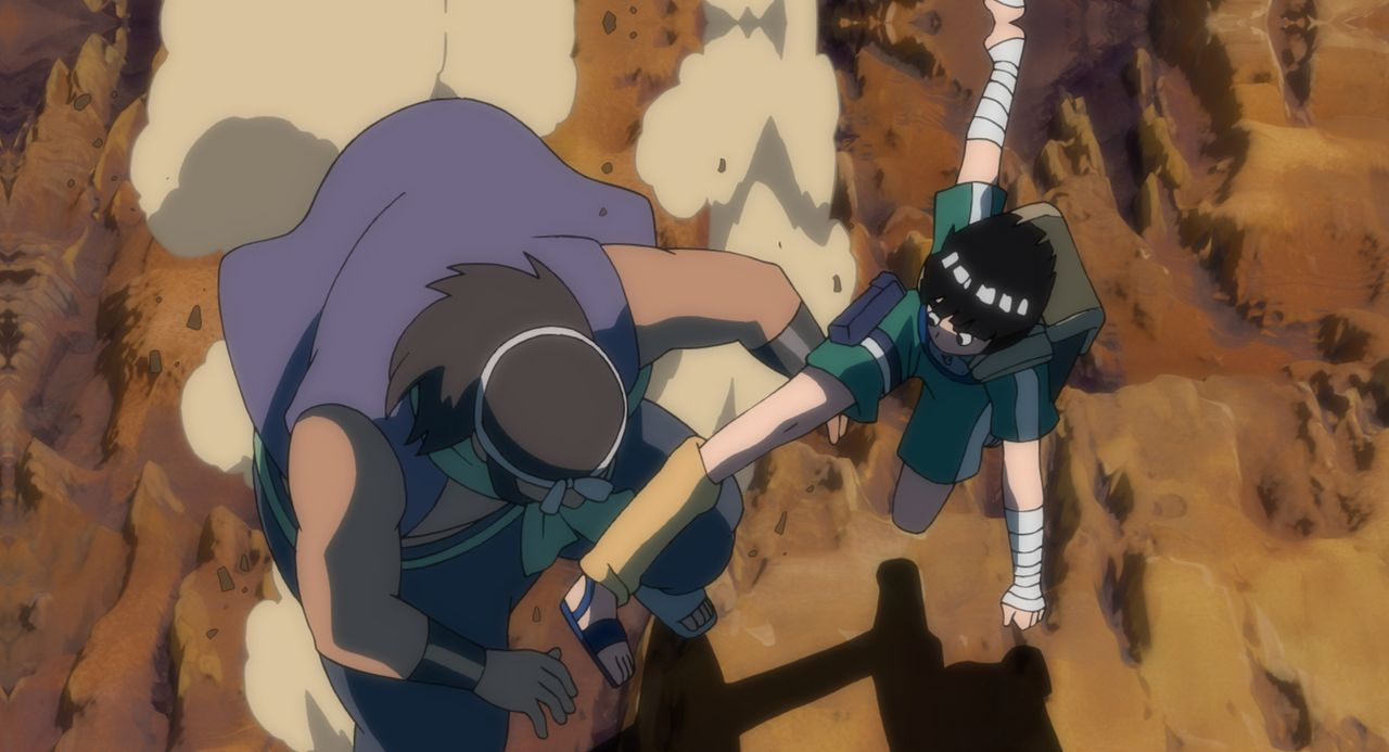 Ein ganz gewöhnlicher Auftrag: Als Naruto, Sakura, Rock Lee und Kakashi den Auftrag bekommen, den Prinzen des Sichelmondreiches, Michiru, und dessen... - Bildquelle: MASASHI KISHIMOTO  NMP 2006