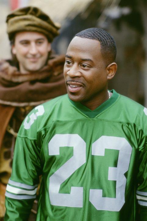 Findet sich eines Tages im Mittelalter wieder: Jamal (Martin Lawrence) ... - Bildquelle: 20th Century Fox