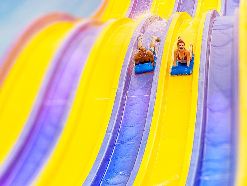 (6. Staffel) - Xtreme Waterparks - Artwork - Bildquelle: 2017, The Travel Channel, LLC. All Rights Reserved.