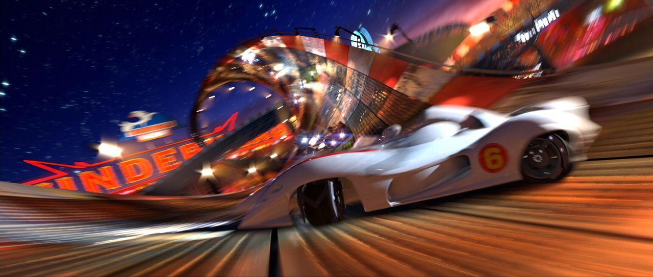Ein erbittertes Duell beginnt, in dem alle Mittel erlaubt sind ... - Bildquelle: 2008   Warner Brothers