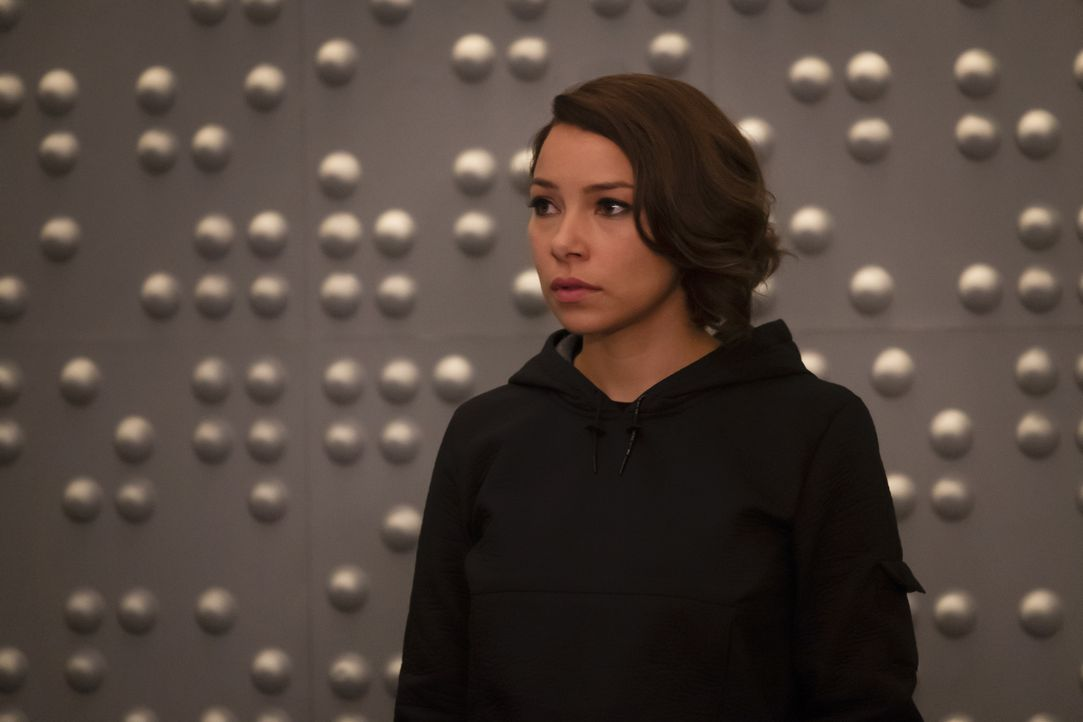 Nora (Jessica Parker Kennedy - Bildquelle: Jeff Weddell 2018 The CW Network, LLC. All rights reserved.