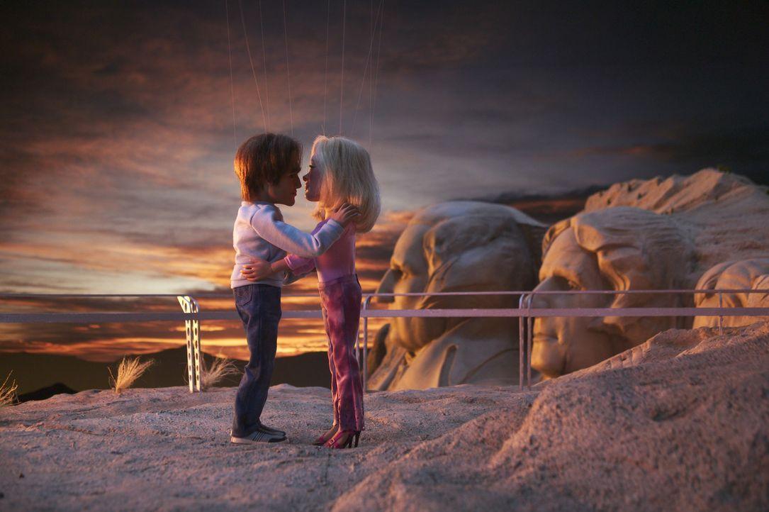 Ende gut, alles gut: Gary (l.) und Lisa (r.) ... - Bildquelle: Paramount Pictures