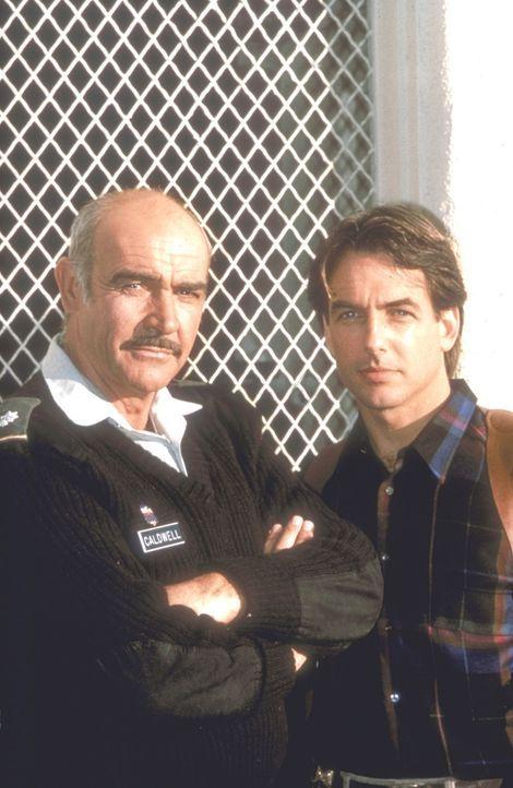 Wider Willen: Als ein Mord in der Militäranlage Presidio geschieht, müssen Cop Jay Austin (Mark Harmon, r.), der vor Jahren Soldat war, und sein e... - Bildquelle: Paramount Pictures
