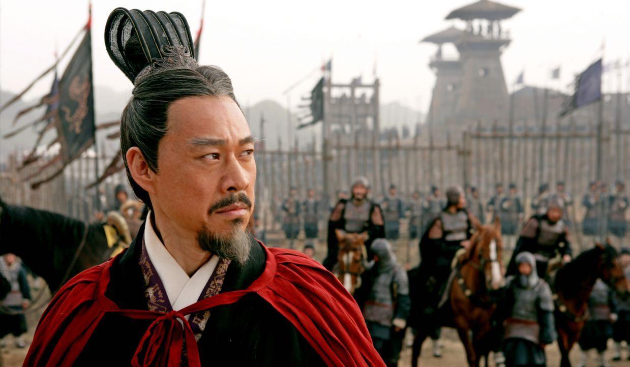 Hat in einer Schlacht gegen Cao Cao eine schwere Niederlage erlitten: König Liu Bei (Yong You) ... - Bildquelle: Constantin Film Verleih GmbH