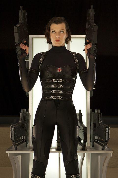 Mein Name ist Alice (Milla Jovovich) - und Vergeltung naht ... - Bildquelle: 2011Davis Films/Impact Pictures (RE5) Inc. and Constantin Film International GmbH.