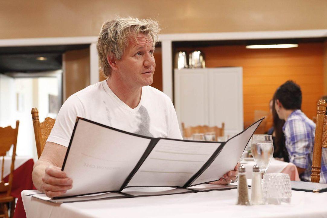 Gordon Ramsay möchte den Besitzern des Kingston Cafés helfen, denn sonst könnten sie ihr Lebenswerk für immer verlieren ... - Bildquelle: Greg Gayne Fox Broadcasting.  All rights reserved.