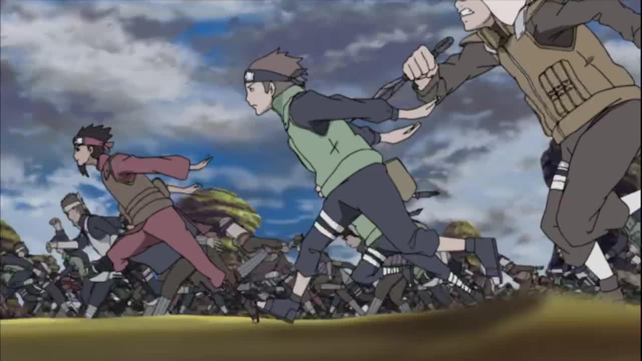 Die Shinobi starten einen Massenagriff